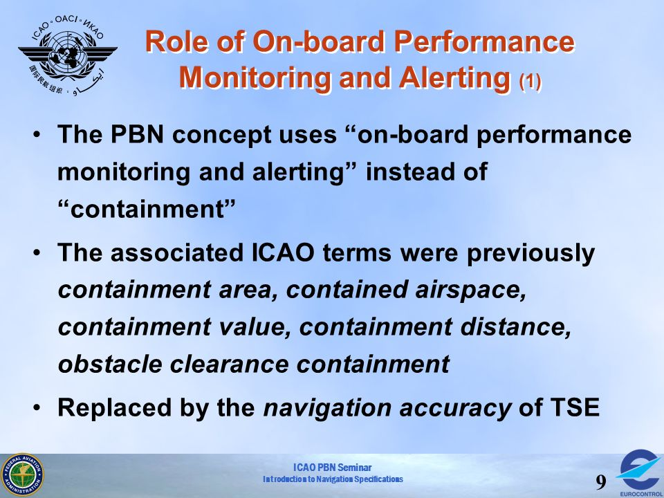 Role of On-board Performance Monitoring and Alerting (1)