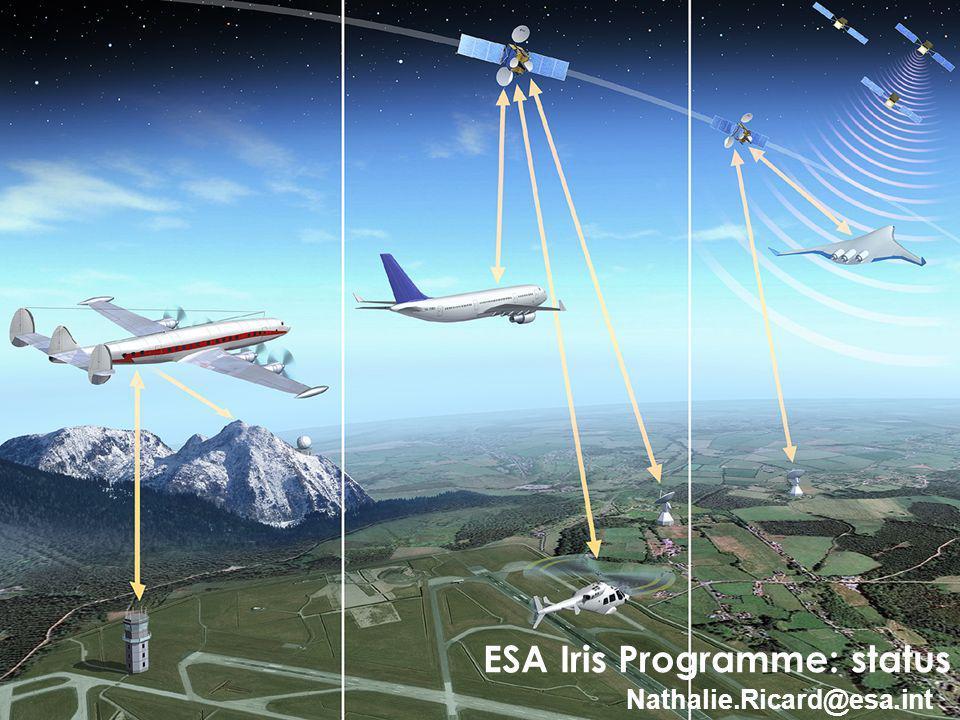 ESA Iris Programme: status