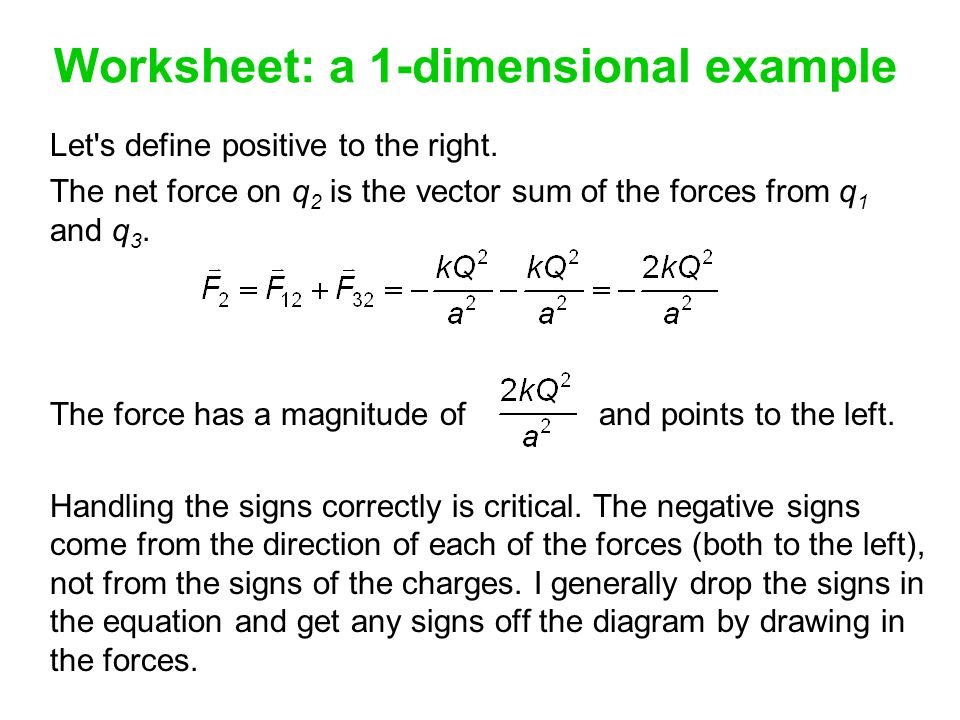 The magnitude of the force ppt download – Calculating Net Force Worksheet