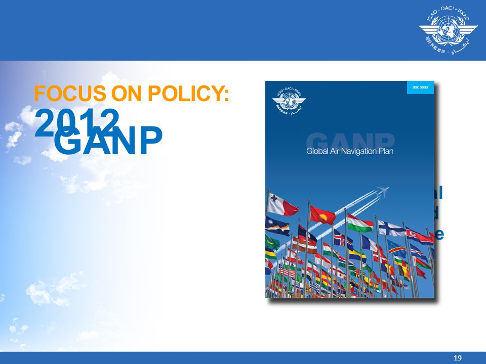 2012 GANP FOCUS ON POLICY: CHAPTER 1