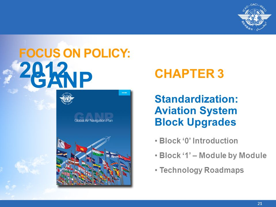 2012 GANP FOCUS ON POLICY: CHAPTER 3