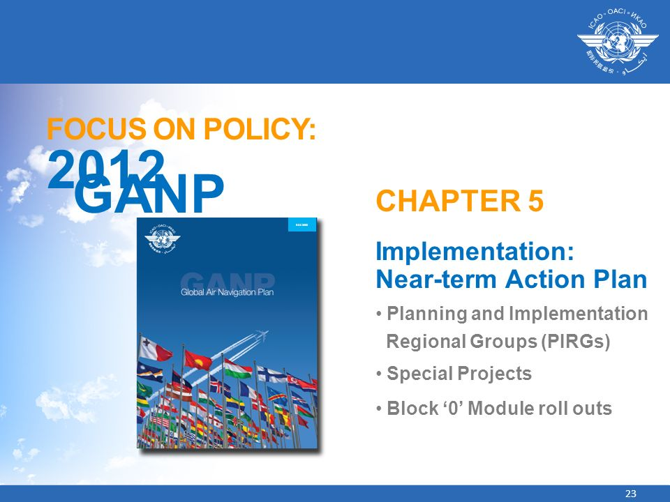 2012 GANP FOCUS ON POLICY: CHAPTER 5