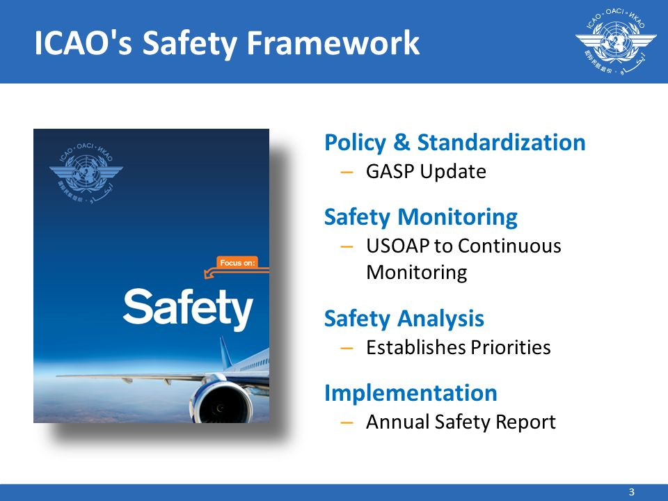 ICAO s Safety Framework