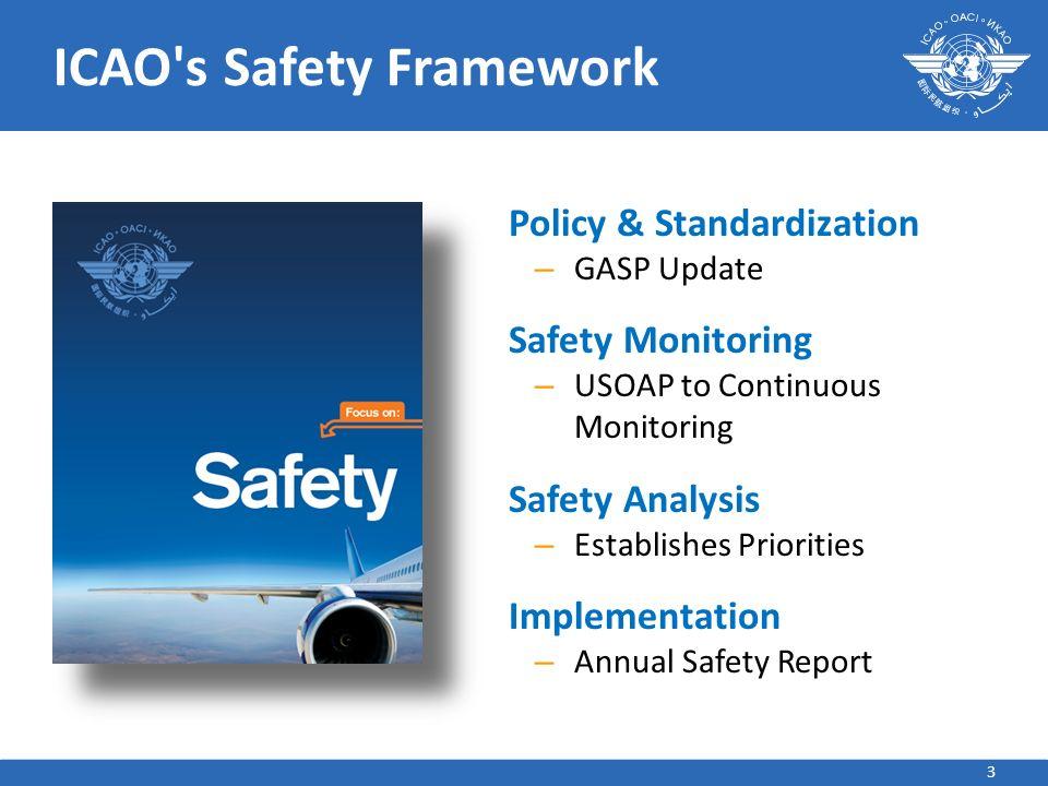 ICAO s Safety Framework