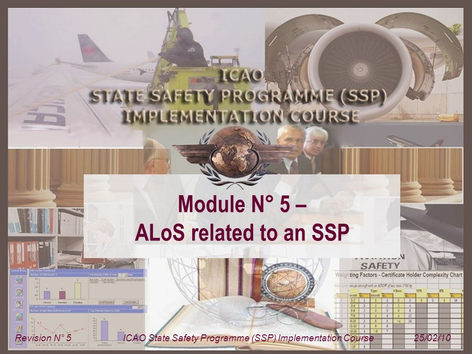 ICAO State Safety Programme (SSP) Implementation Course