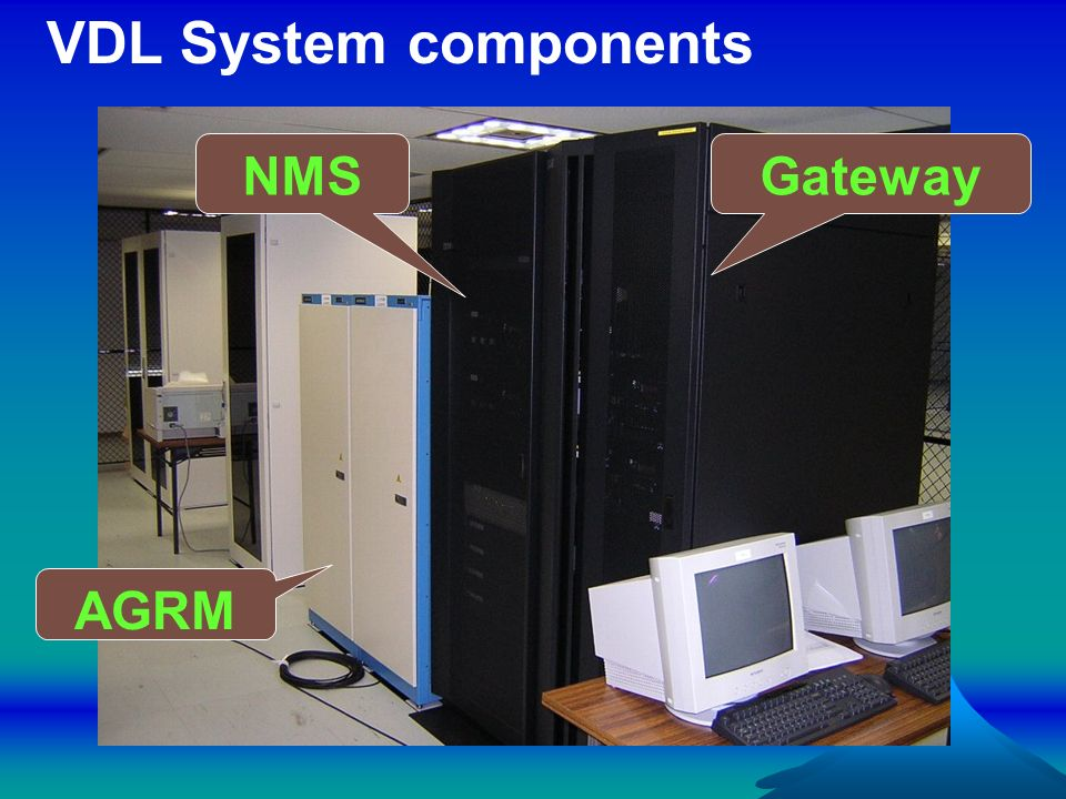 VDL System components NMS Gateway AGRM