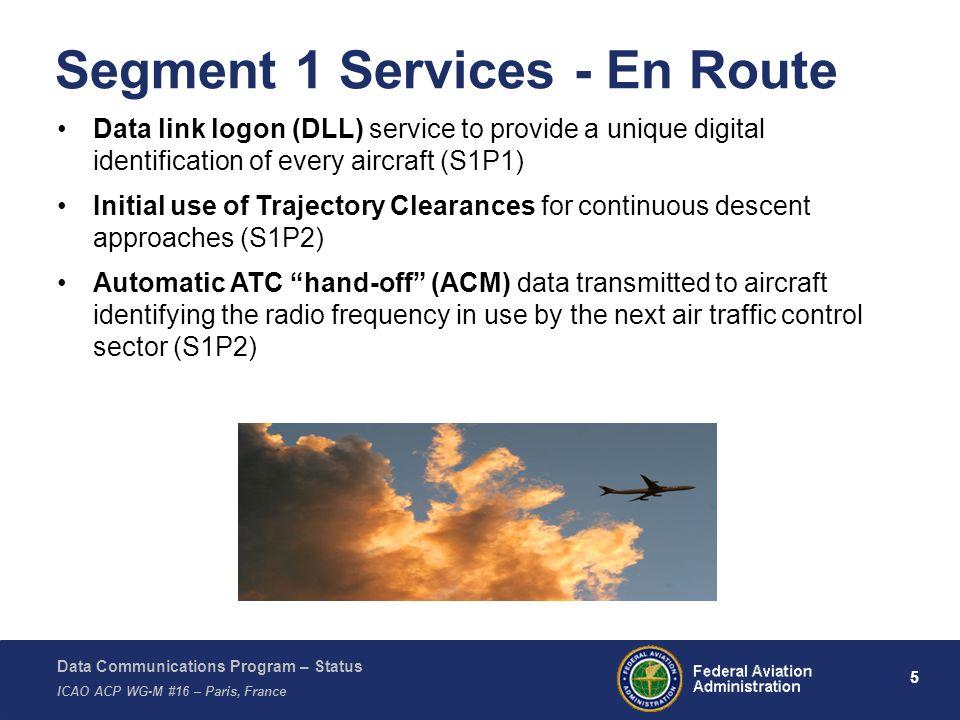 Segment 1 Services - En Route