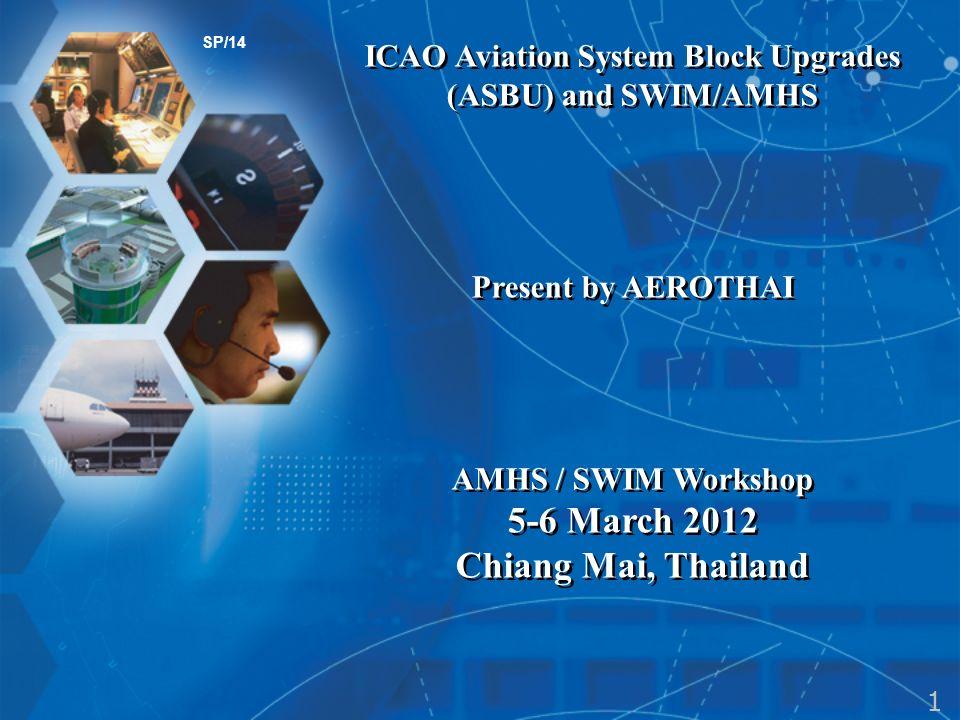 ICAO Aviation System Block Upgrades (ASBU) and SWIM/AMHS