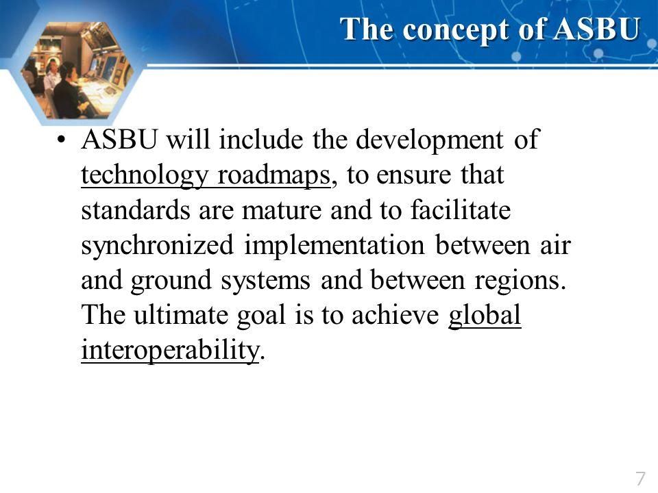 The concept of ASBU