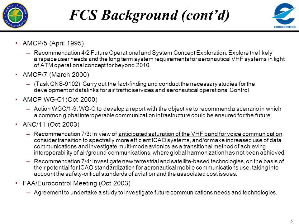 FCS Background (cont'd)