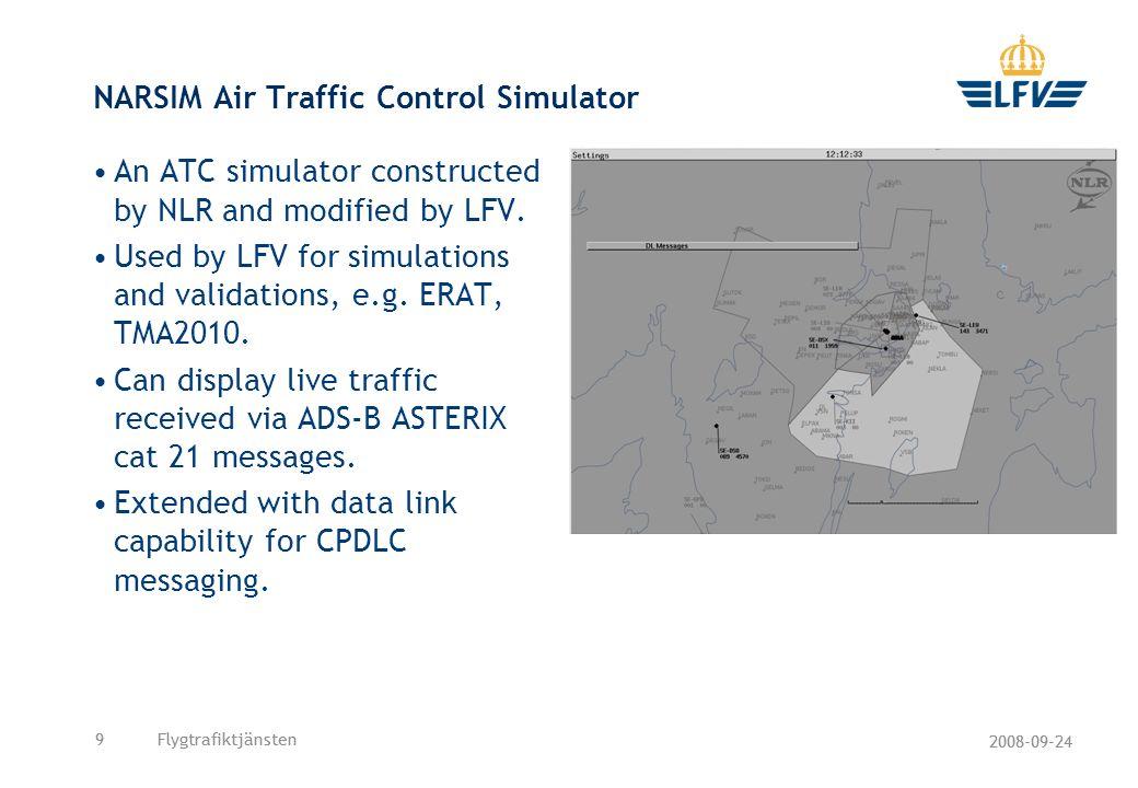 NARSIM Air Traffic Control Simulator