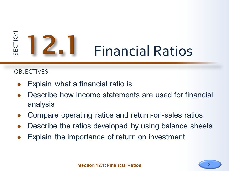 importance of financial ratios When it comes to investing, analyzing financial statement information (also known as quantitative analysis), is one of, if not the most important element in the fundamental analysis process.