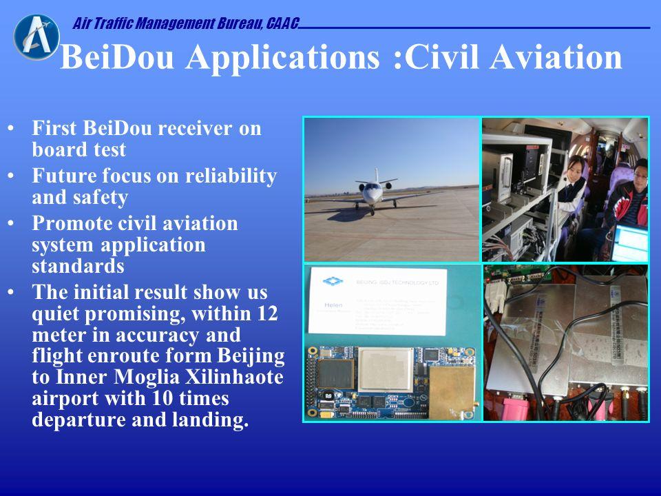 BeiDou Applications :Civil Aviation