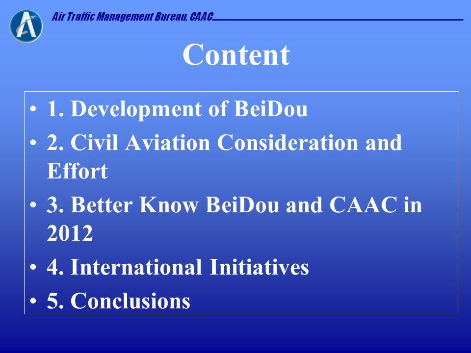 Content 1. Development of BeiDou