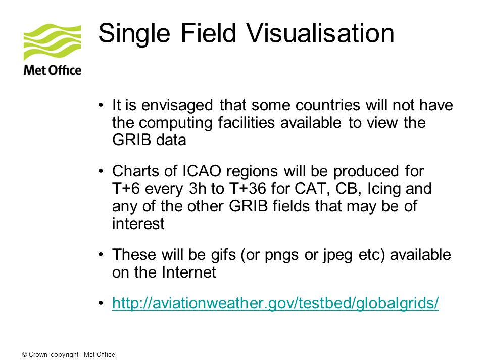 Single Field Visualisation