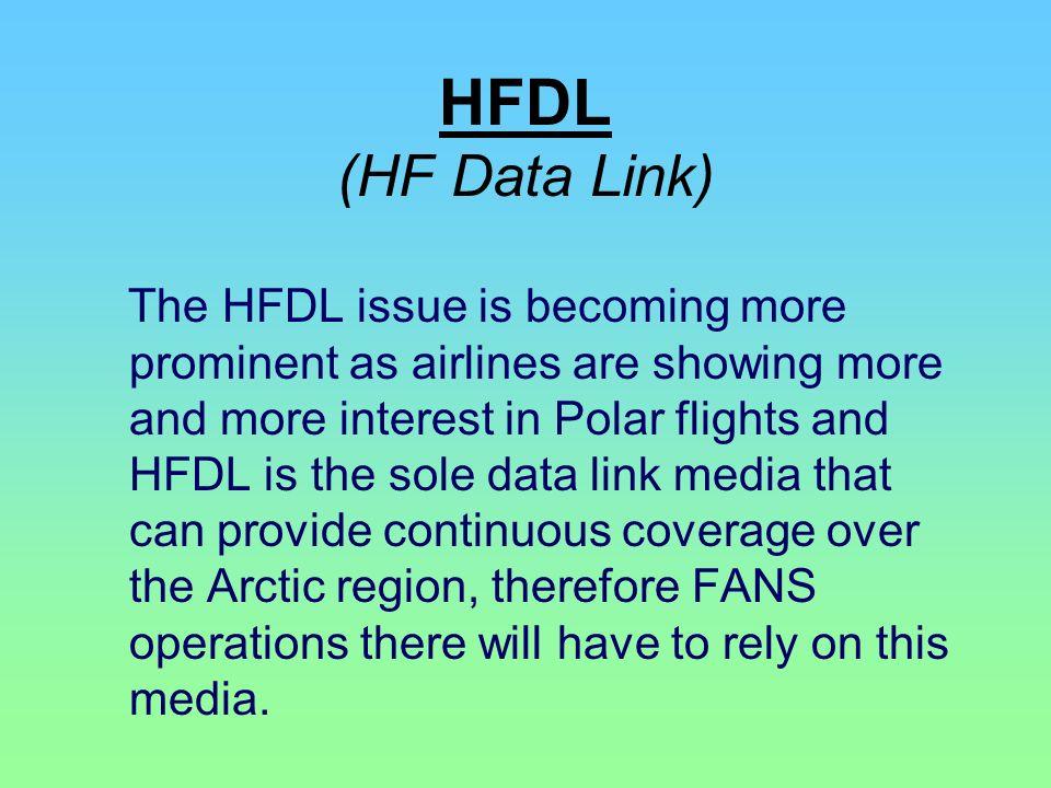 HFDL (HF Data Link)