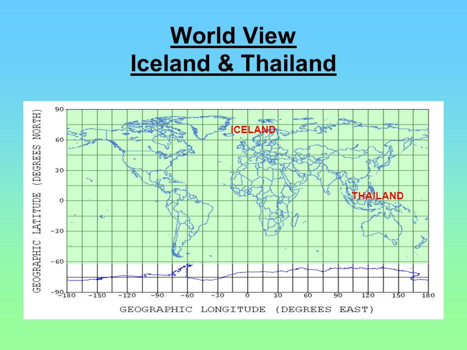 World View Iceland & Thailand