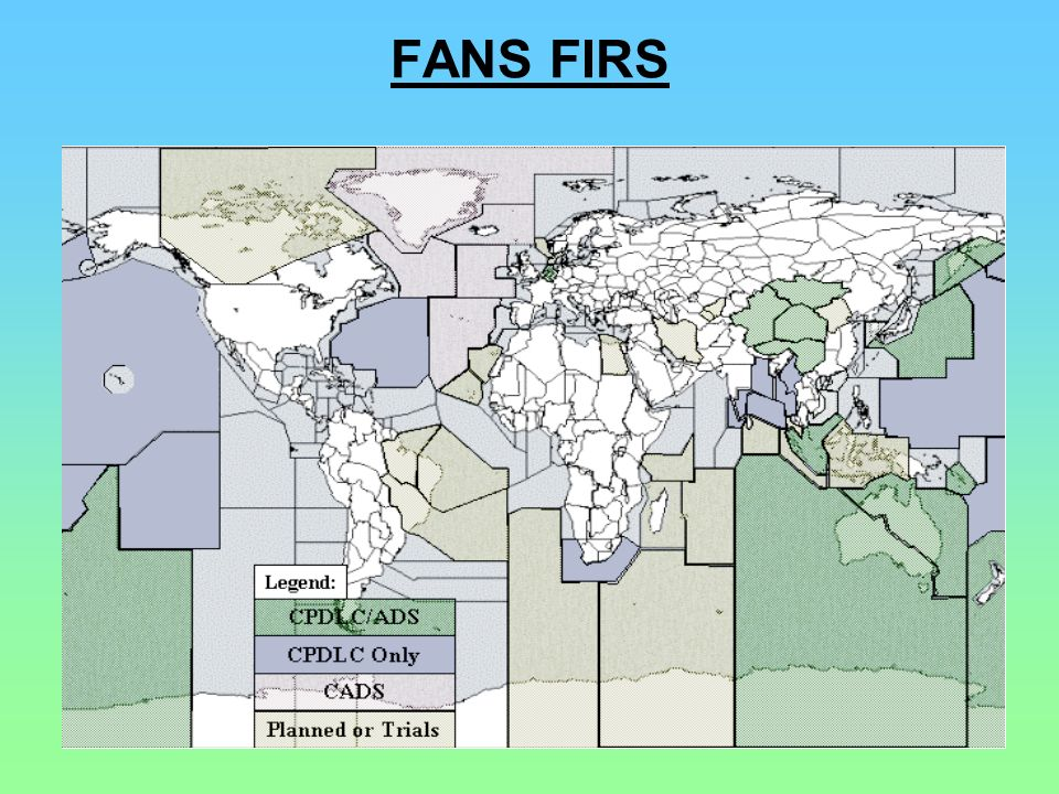 FANS FIRS Iceland takes advantage of the ARINC Central ADS Server (CADS) system.