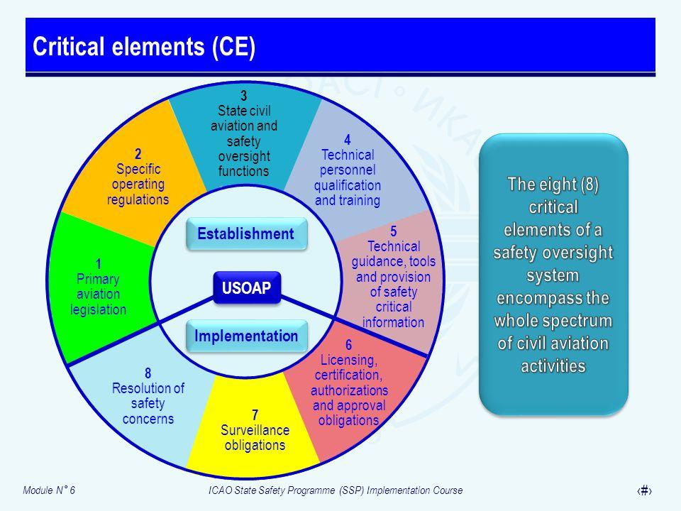 Critical elements (CE)