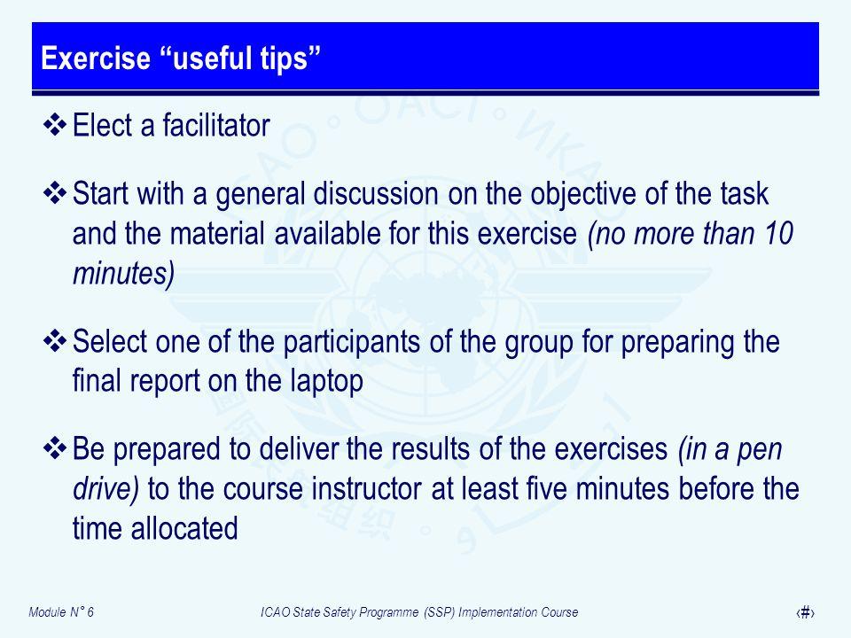 Exercise useful tips
