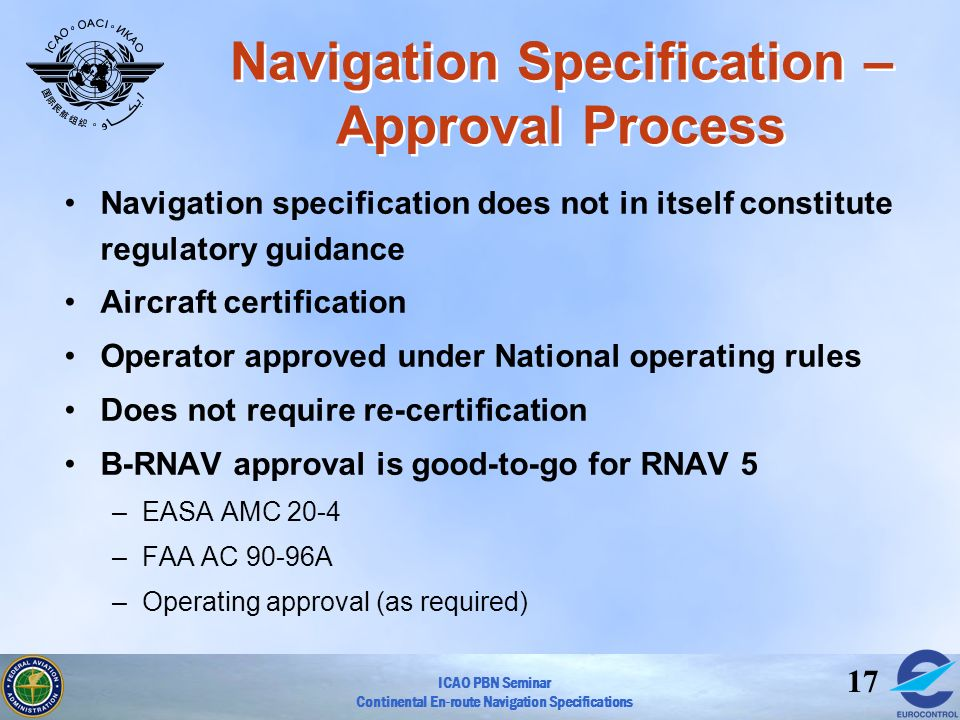 Navigation Specification – Approval Process