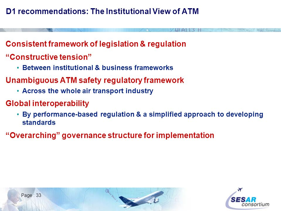 D1 recommendations: The Institutional View of ATM