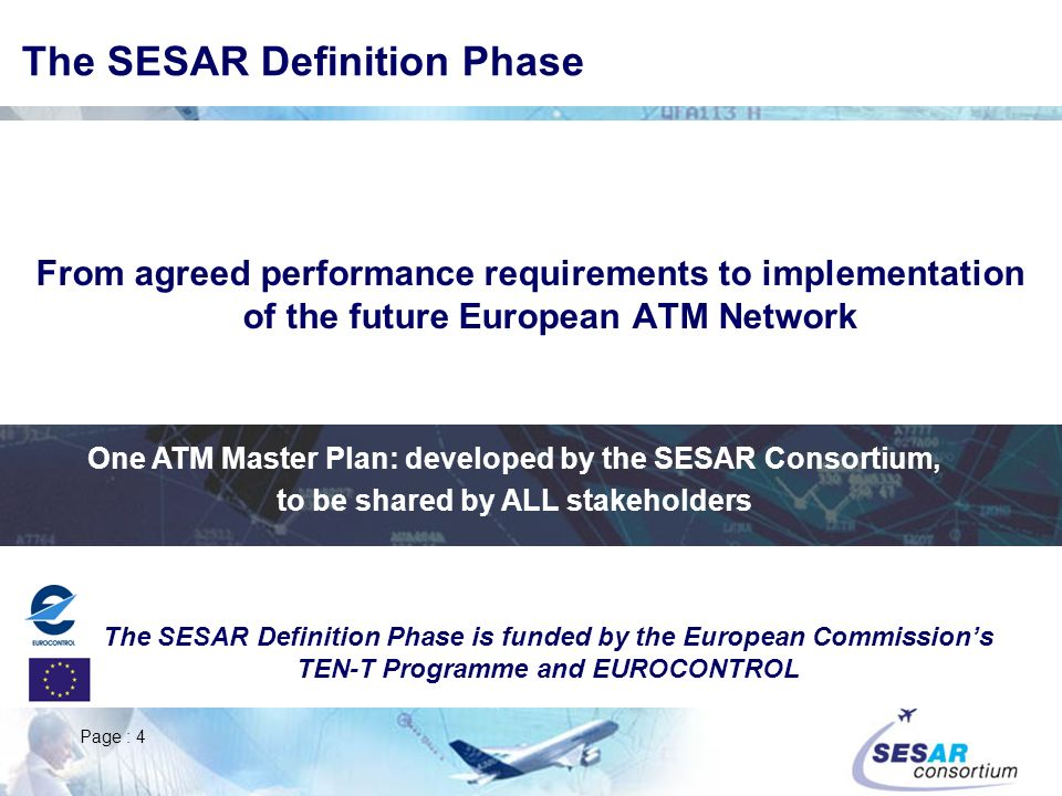 The SESAR Definition Phase