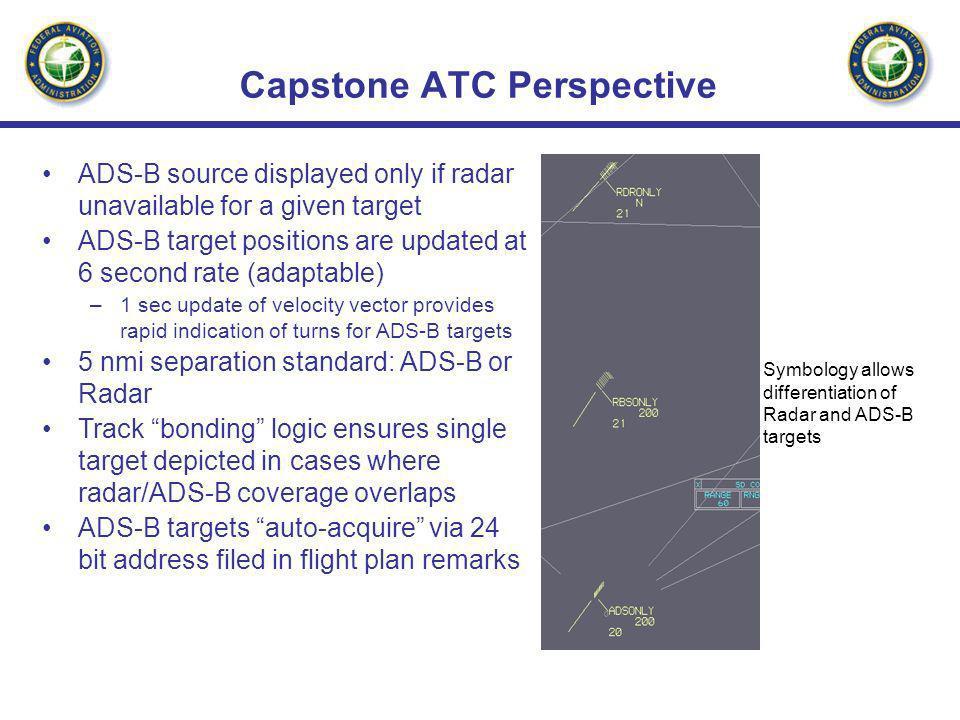 Capstone ATC Perspective