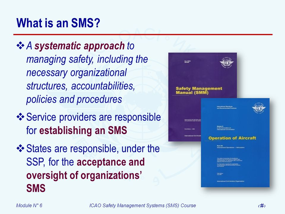 What is an SMS