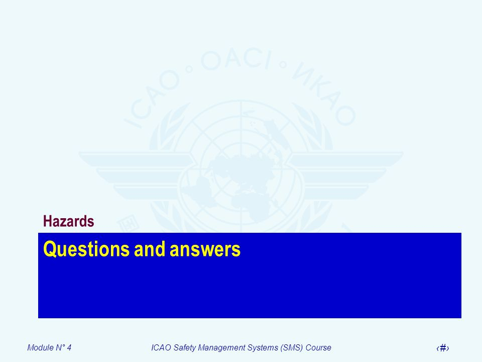 Hazards Questions and answers