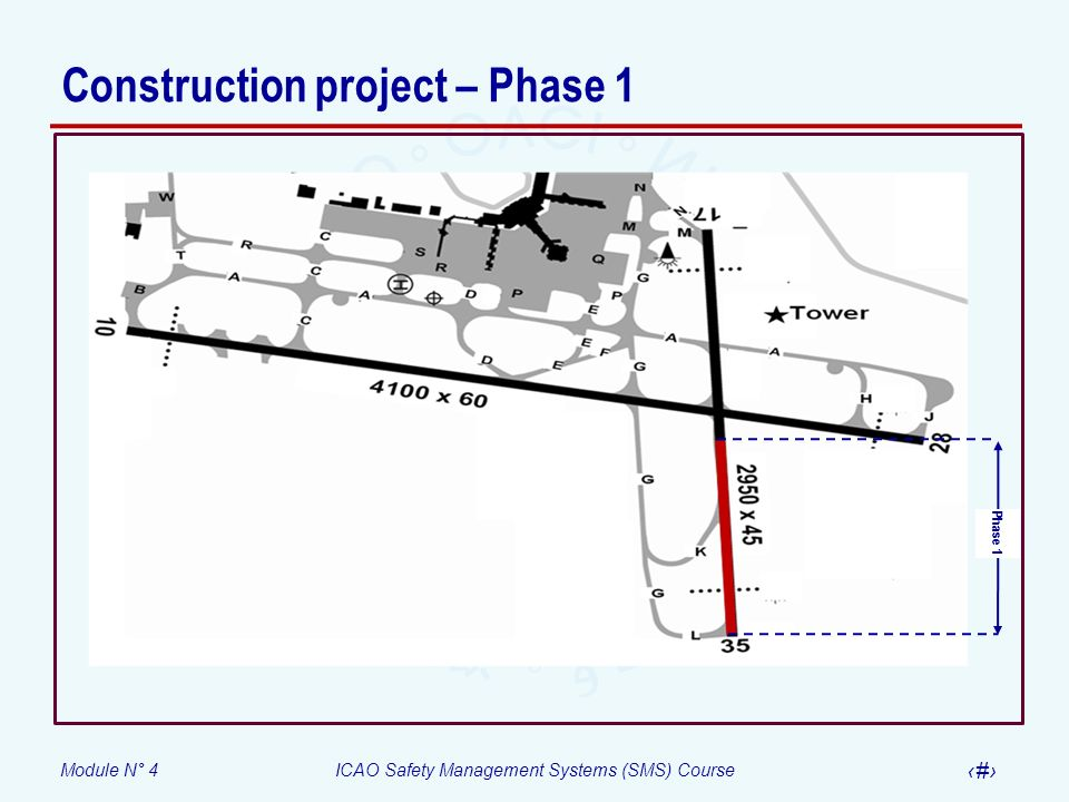 Construction project – Phase 1