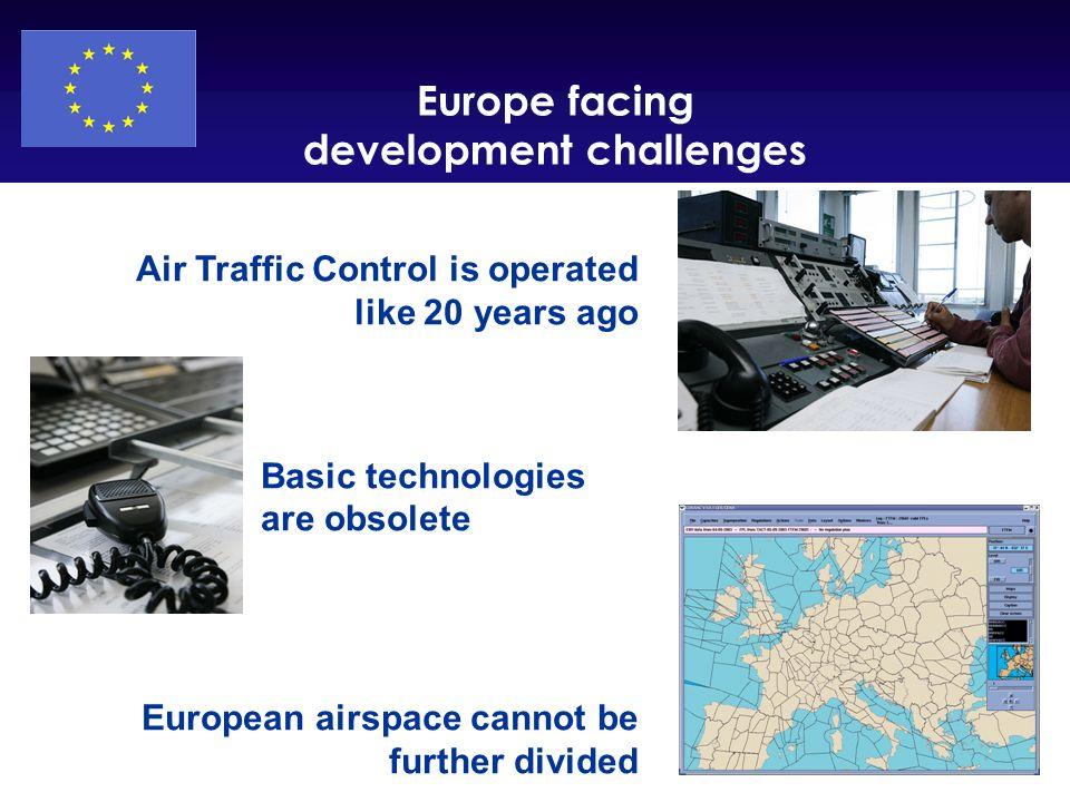 Europe facing development challenges