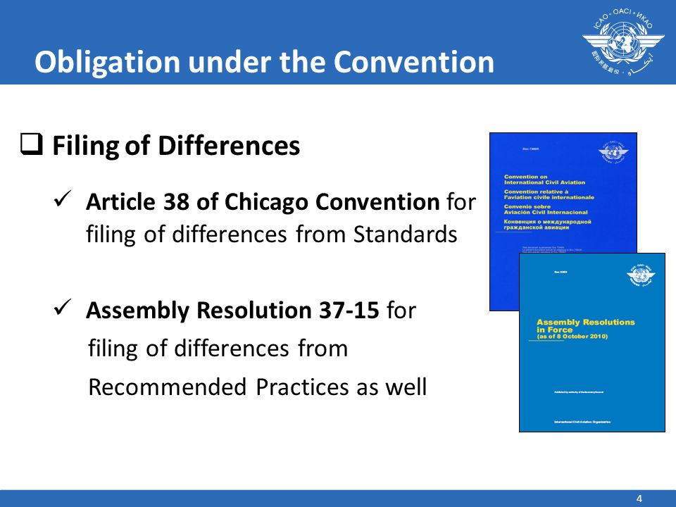 Obligation under the Convention