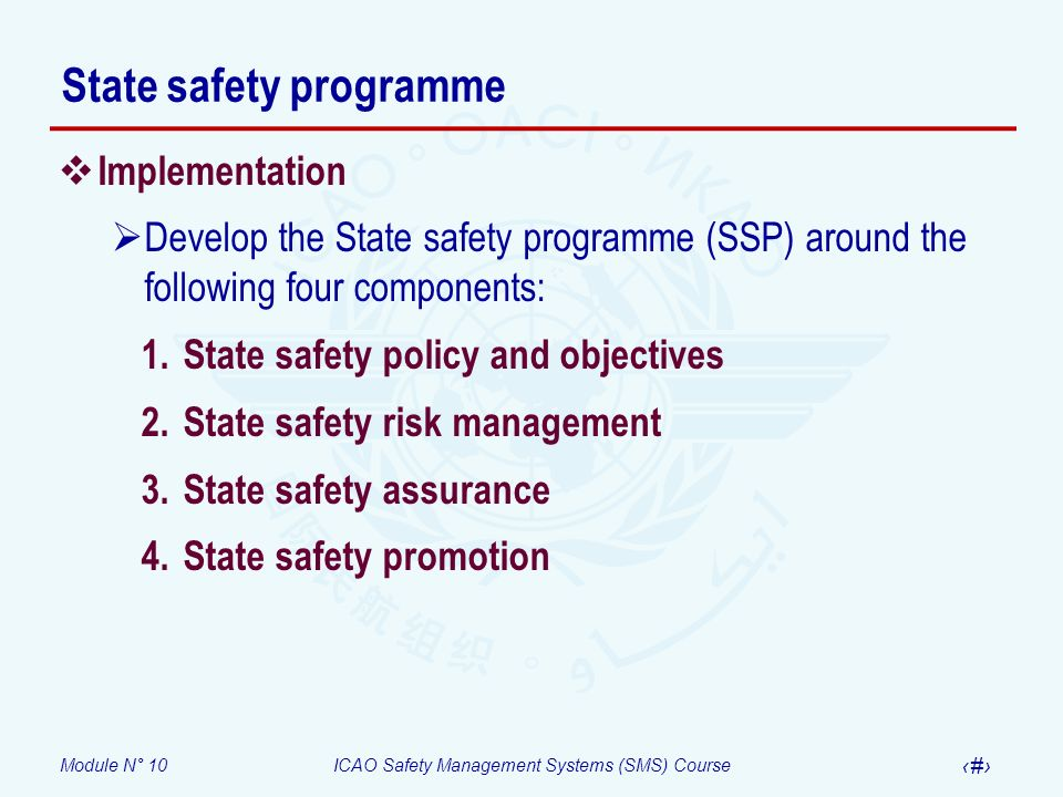 State safety programme