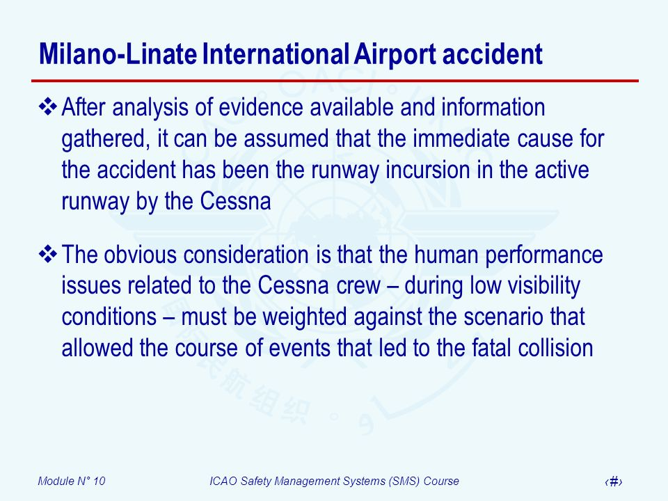 Milano-Linate International Airport accident