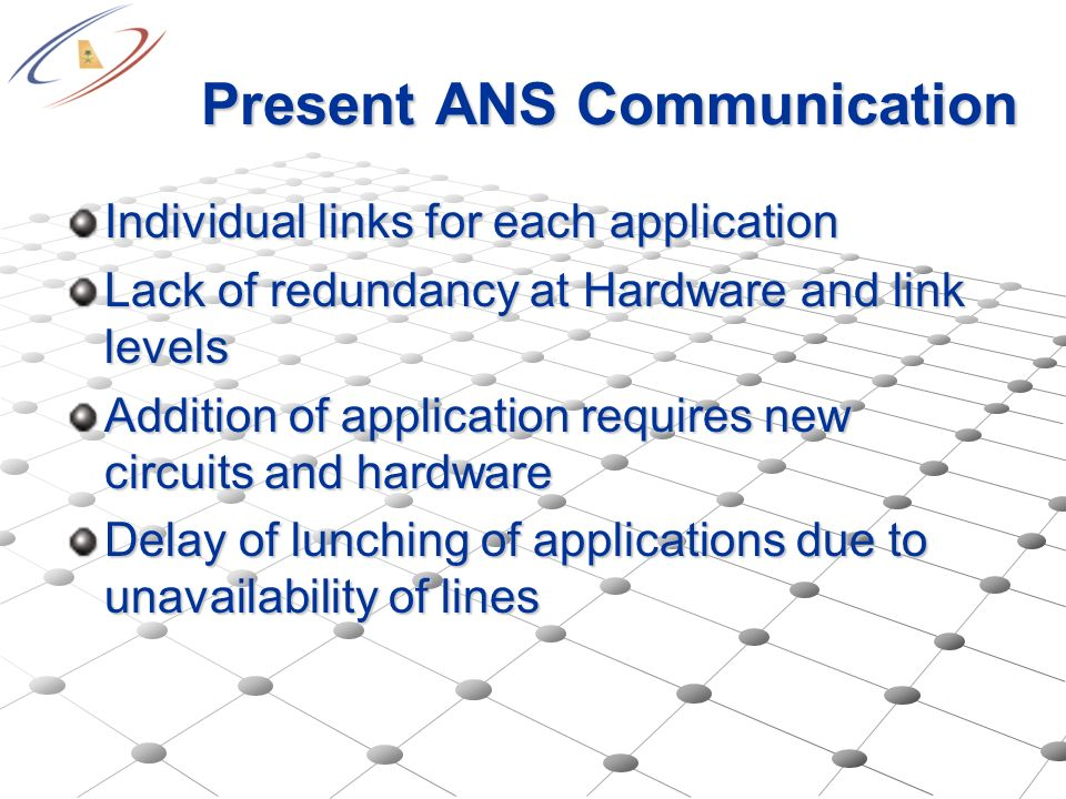 Present ANS Communication