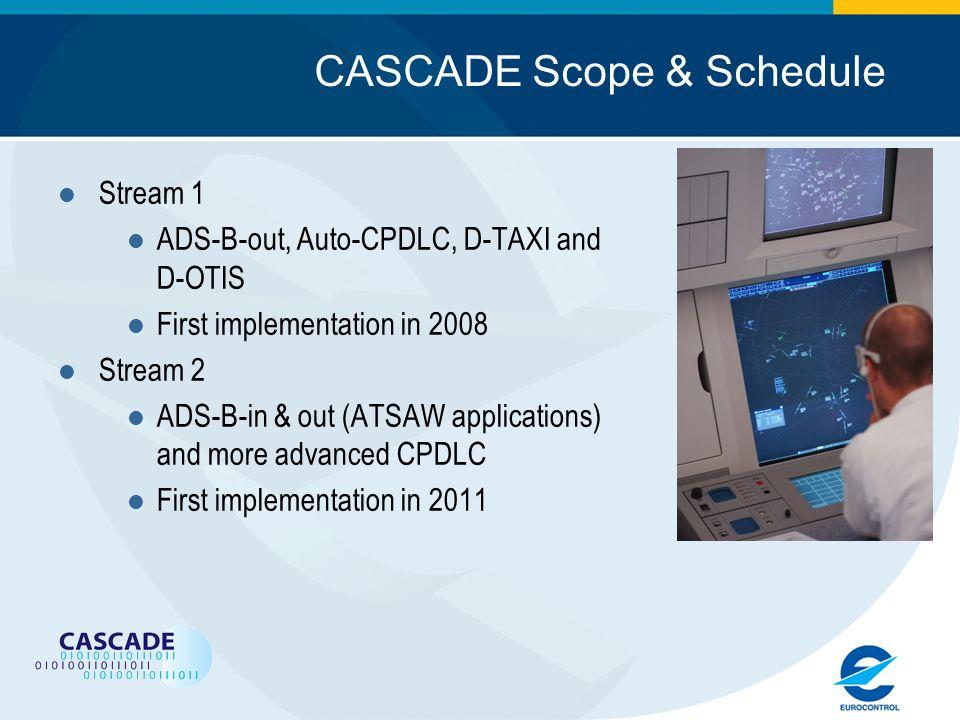 CASCADE Scope & Schedule
