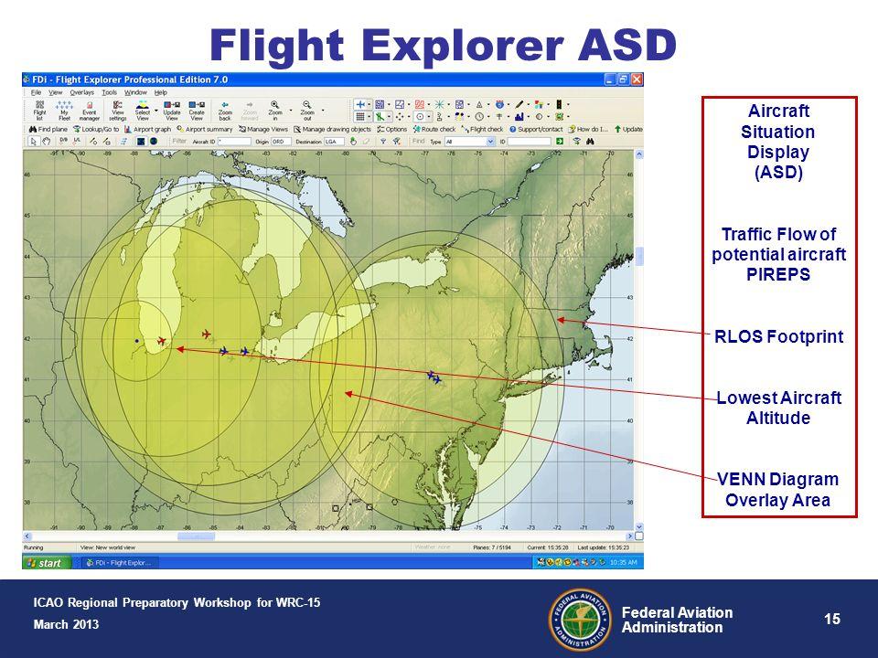 Flight Explorer ASD Aircraft Situation Display (ASD)