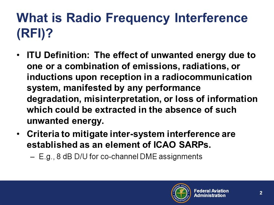 What is Radio Frequency Interference (RFI)