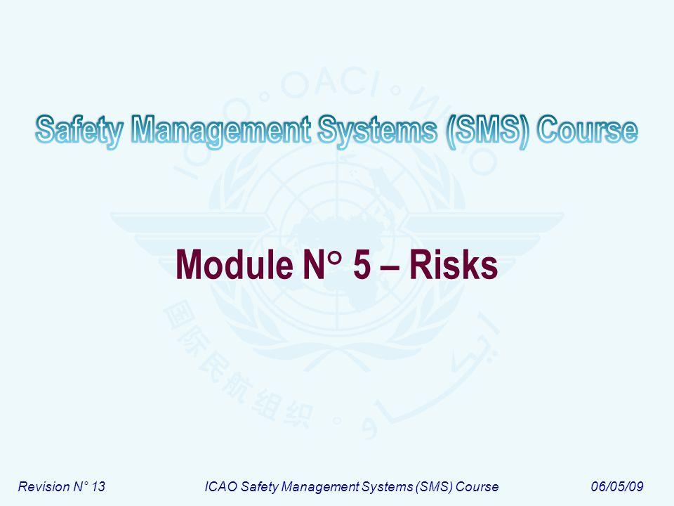 Module N° 5 – Risks