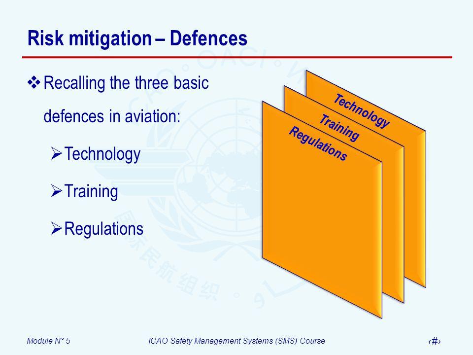 Risk mitigation – Defences