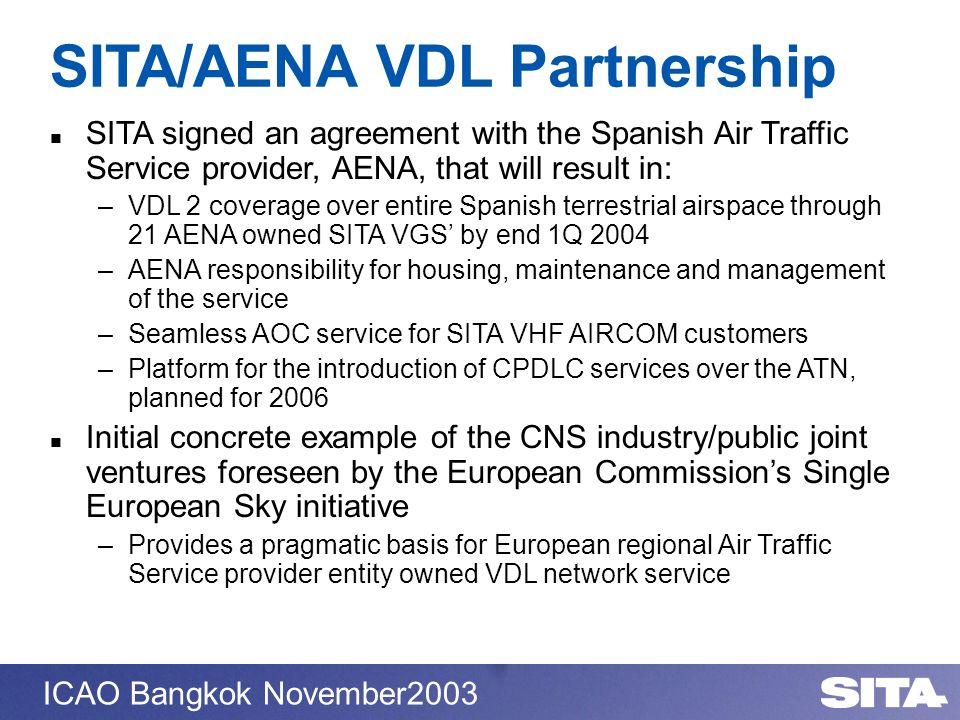SITA/AENA VDL Partnership