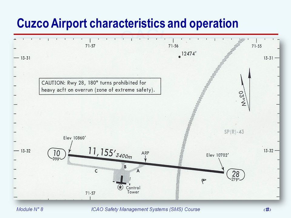 Cuzco Airport characteristics and operation