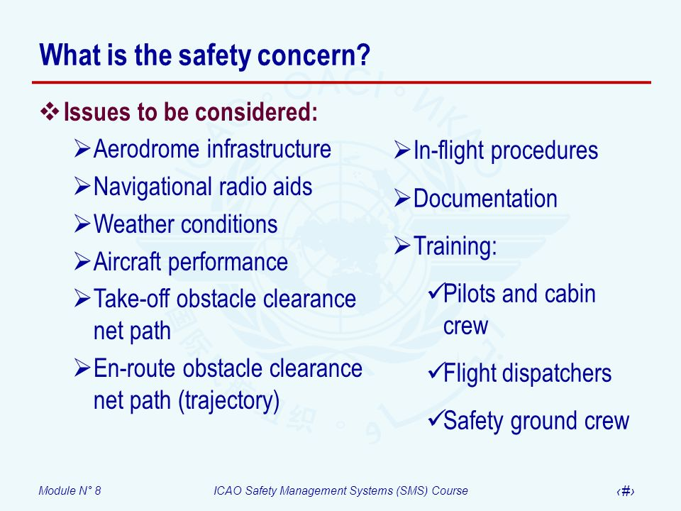 What is the safety concern