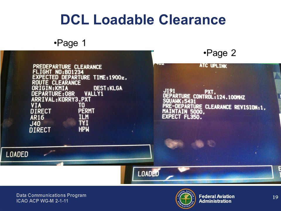 DCL Loadable Clearance