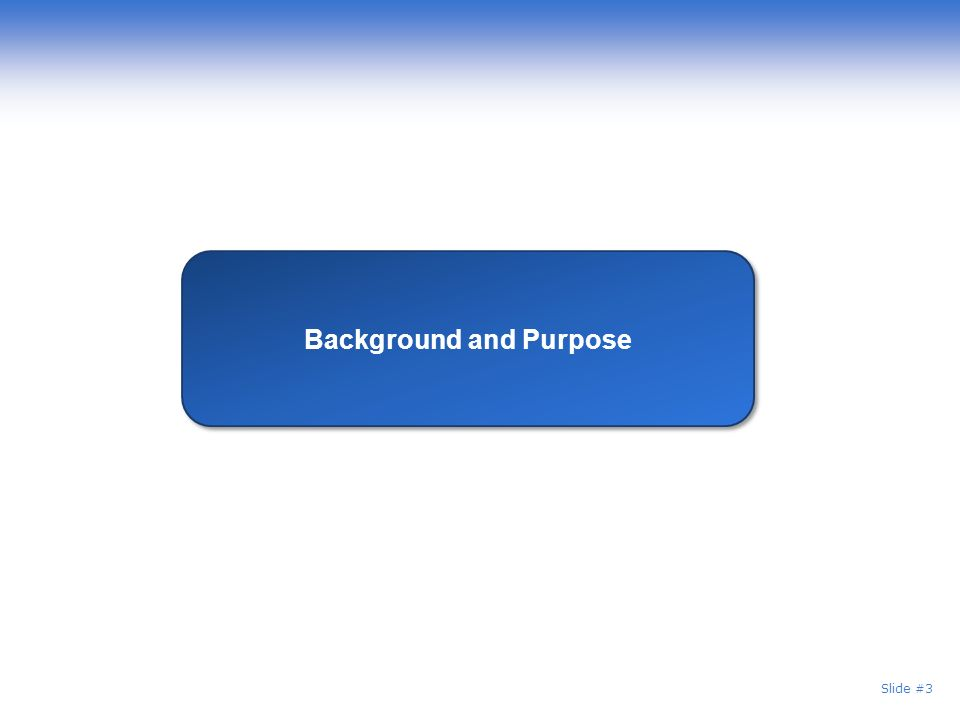 Background and Purpose