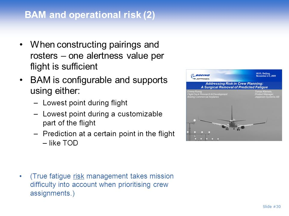 BAM and operational risk (2)