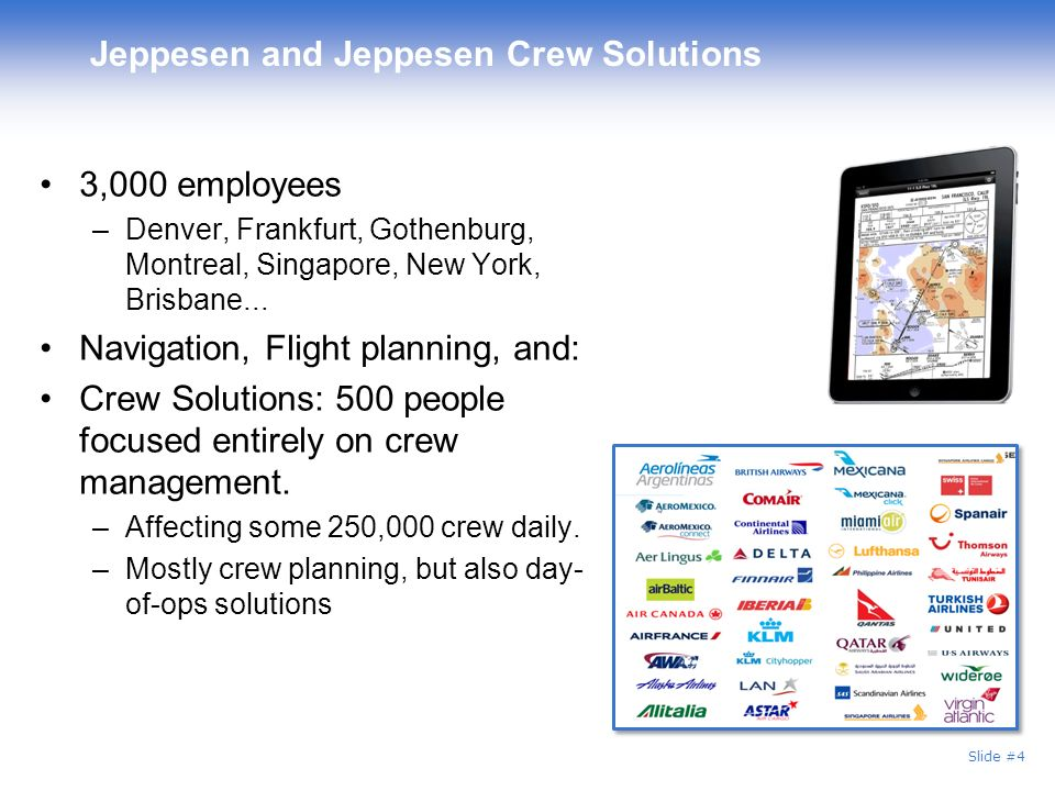 Jeppesen and Jeppesen Crew Solutions