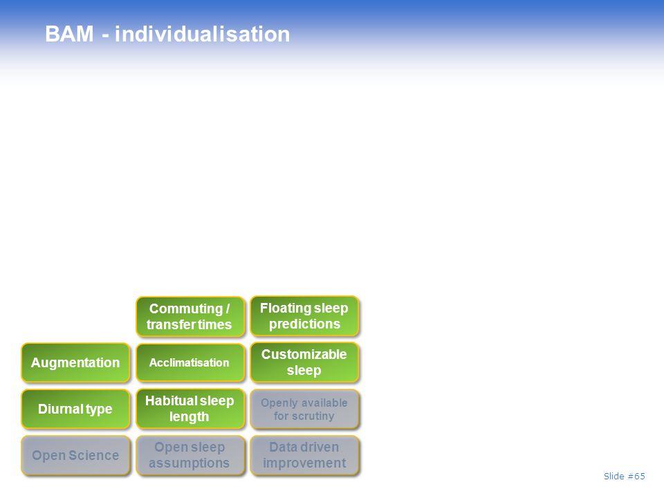 BAM - individualisation