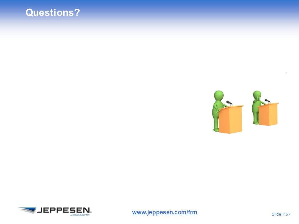 Questions www.jeppesen.com/frm